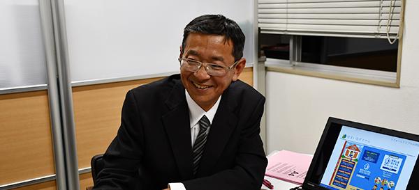 営業課 班長 / ゆめタウン店長 佐藤 勉